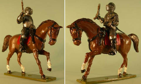 Cuirassier Cavalry in 3/4 plate with pistol