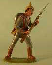 German Infantry advancing (painted toy style)