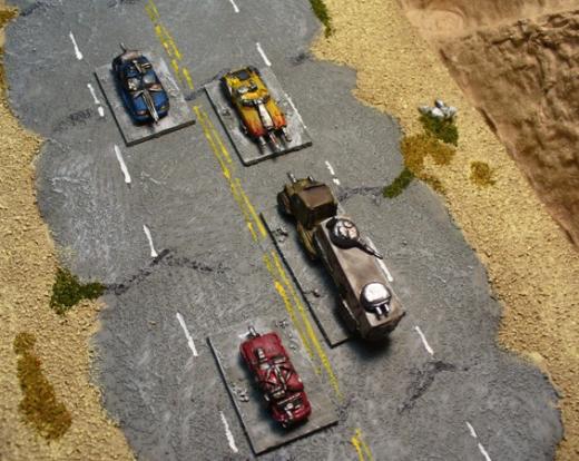 Car Wars Miniatures